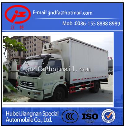 DongFeng DouLiKa Refrigerator Truck,Freezer Truck