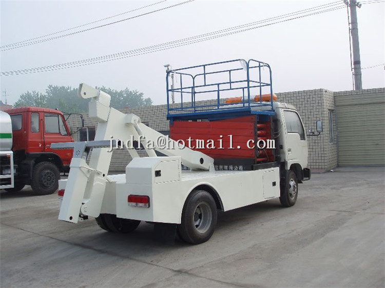 DongFeng JinBa Road Wrecker Truck,Recovery Truck