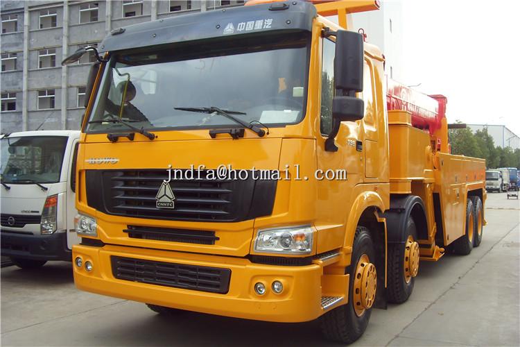 HOWO 8X4 Wrecker Truck,Recovery Truck,Road Wrecker Truck