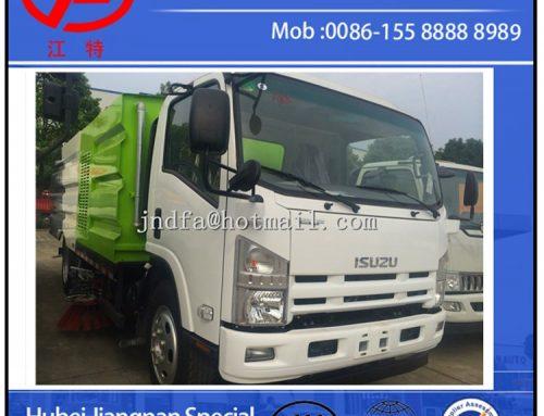 ISUZU Sweeper Vacuum Road Truck