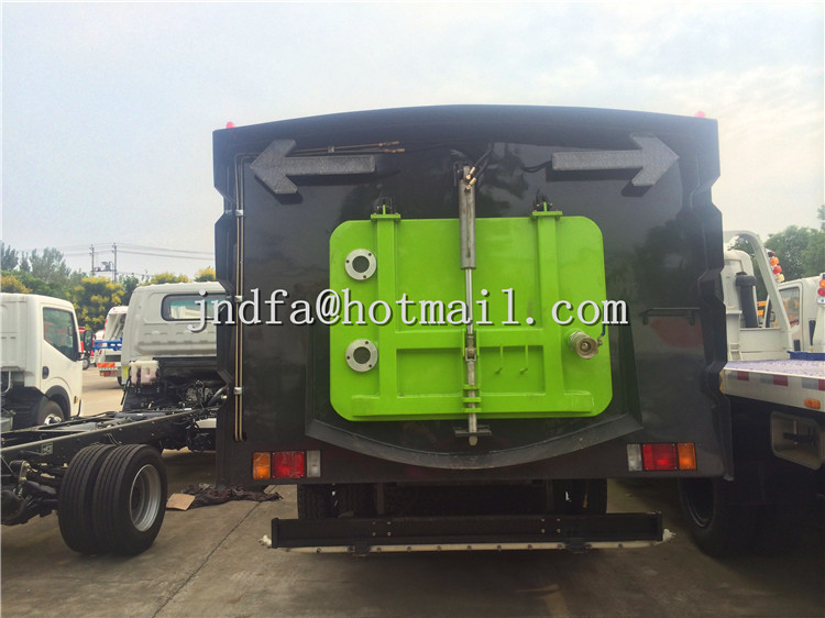 ISUZU Sweeper Vacuum Road Truck,Street Sweeper Truck
