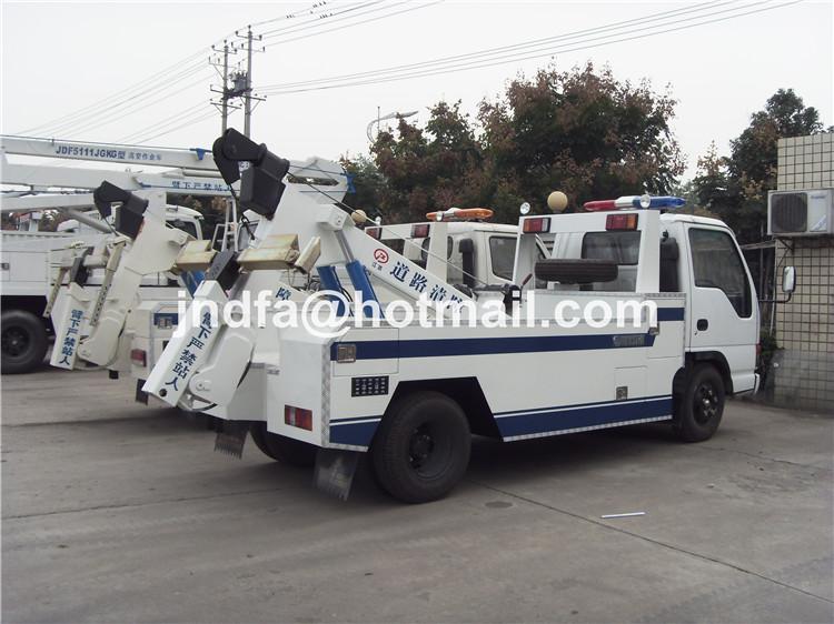 ISUZU small road wrecker tow truck,Recovery Truck
