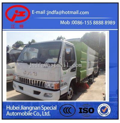 JAC vacuum sweeper, street sweeper truck