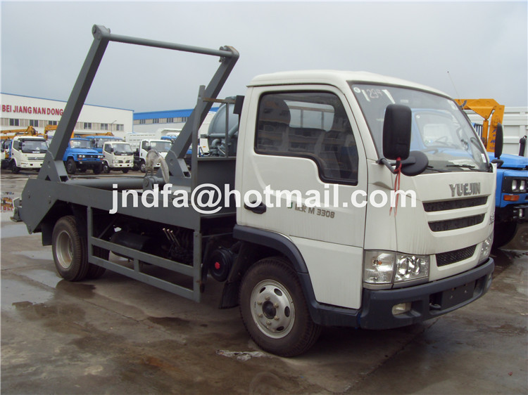 YueJin Swing Arm Garbage Truck,Waste Collector Truck