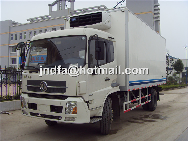 DongFeng TianJin Refrigerator Truck,Freezer Truck