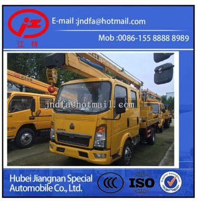 HOWO Aerial Platform Truck,High Working Truck