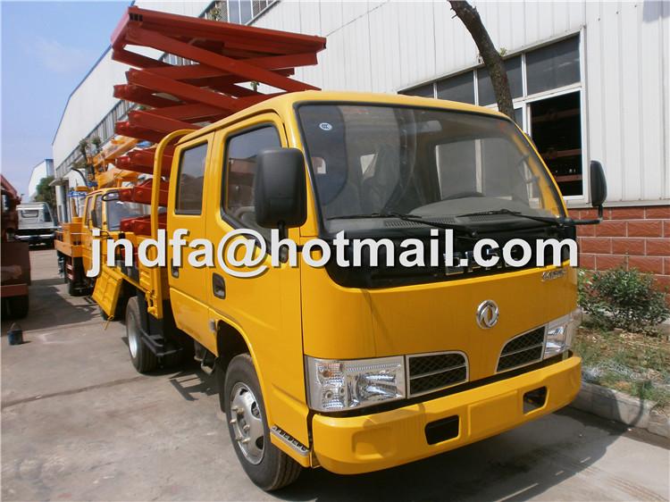 Dongfeng DFAC Sissor Lifter, Aerial Platform Truck