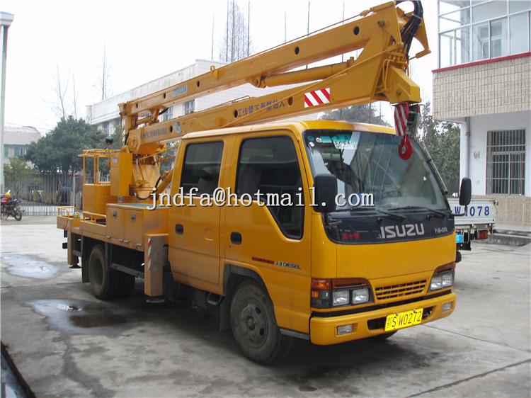 ISUZU NKR Aerial Platform Truck,High Working Truck