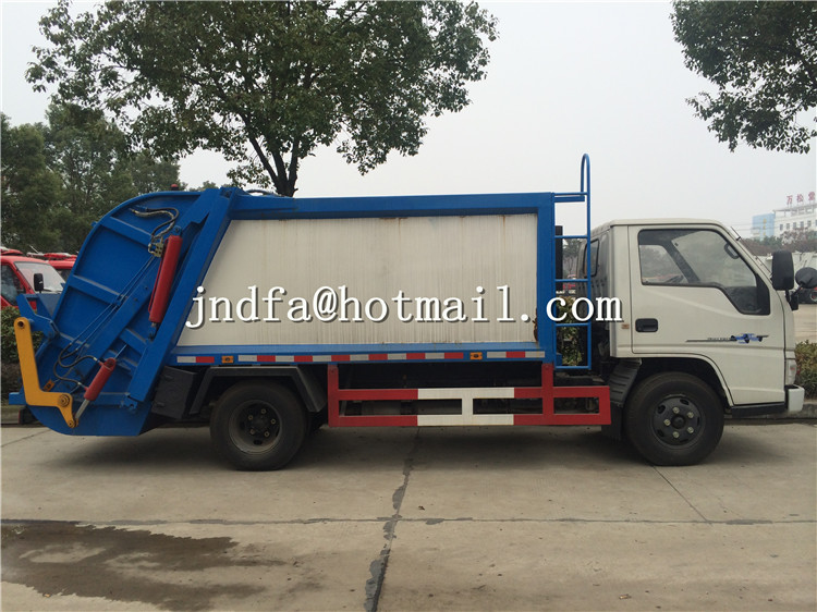 JMC Waste Compactor Vehicle Garbage Truck