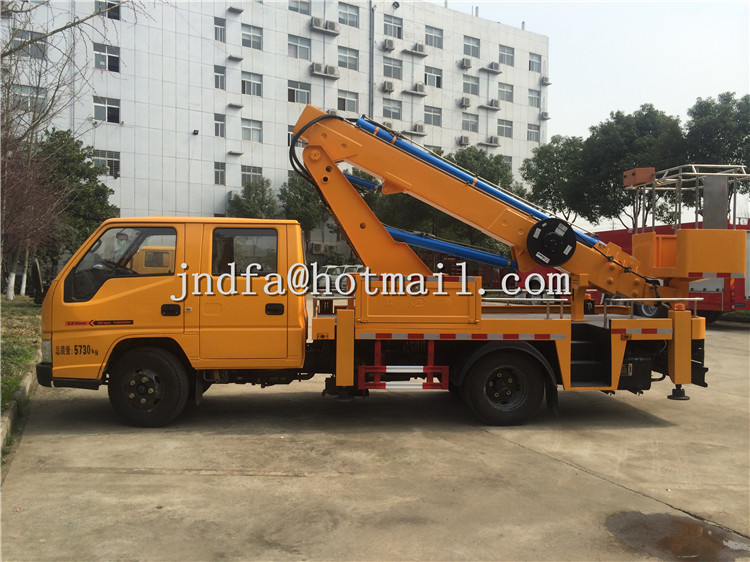 JMC Telescopic Boom Overhead Working Truck, Aerial Platform Truck