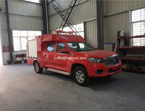 Benz mini-type 500L water tanker fire fighter truck