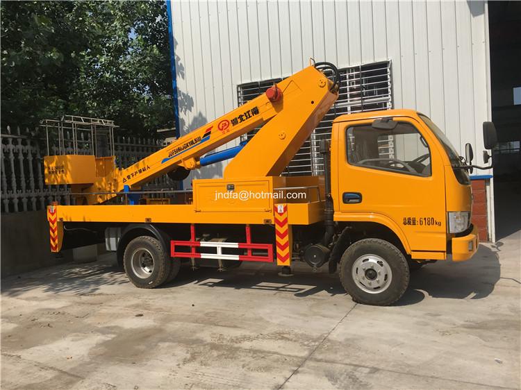 20m aerial working truck
