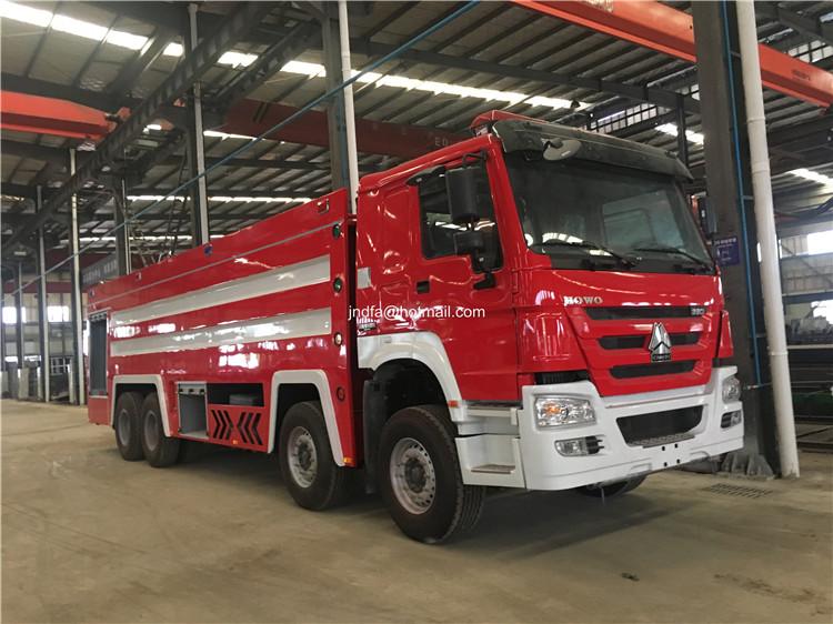 22 cbm fire fighting truck