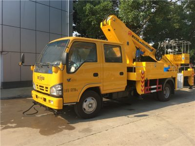 14m aerial lift truck